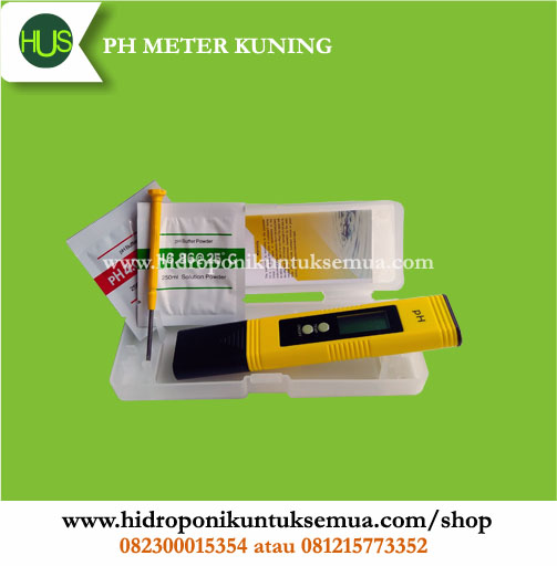 ph meter kuning auto calibrate
