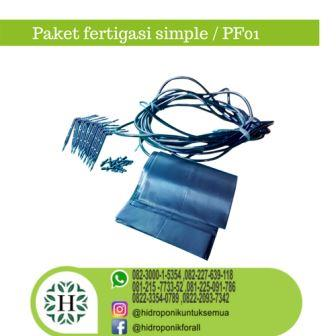 paket fertigasi simple