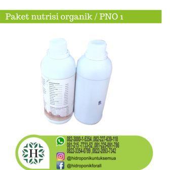 Paket nutrisi organik 01 / PNO 01