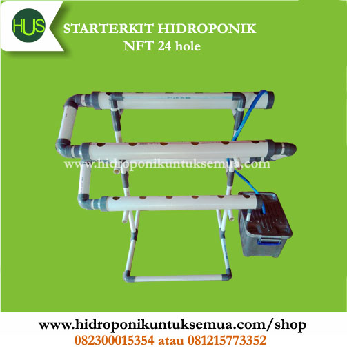 starterkit hidroponik NFT 24