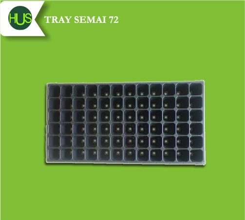 Ilustrasi tray semai yang digunakan