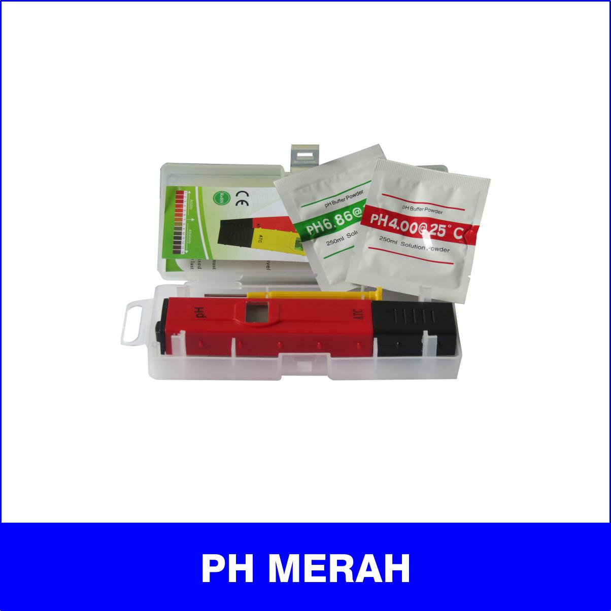 pH Merah
