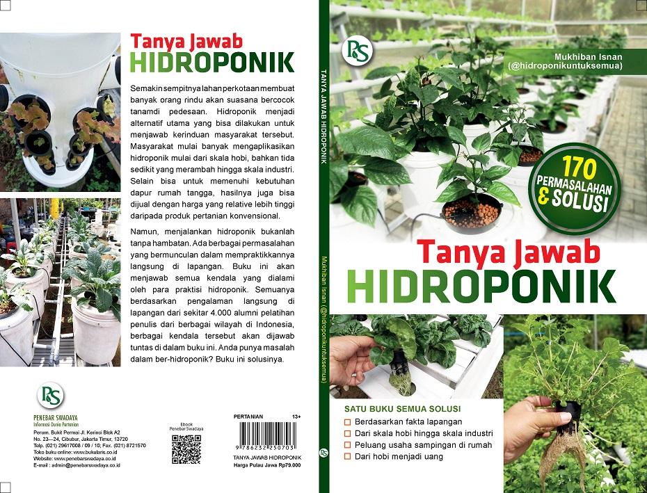 buku 170 masalah hidroponik dan solusinya